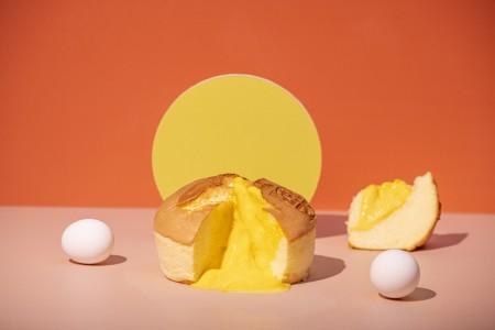 【樂樂甜點】奶黃流沙布丁蛋糕(6吋/盒)