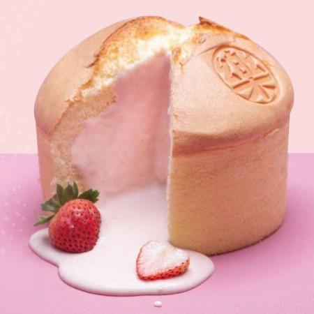 【樂樂甜點】免運費! 樂樂草莓蜂爆漿布丁蛋糕(6吋/盒)+草莓脆皮提拉米蘇(9入/盒)