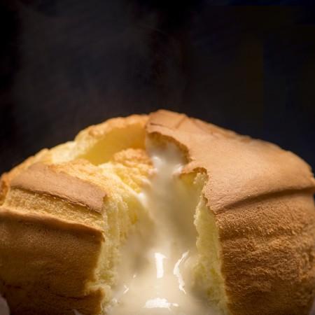 【樂樂甜點】樂樂爆漿布丁蛋糕(6吋/盒)-2盒