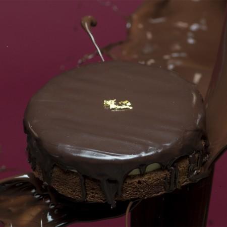 【樂樂甜點】超濃生巧克力布朗尼蛋糕1盒