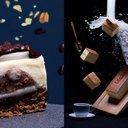 【你下單,運費我來付!】紅豆麻吉脆皮提拉米蘇(9入/盒)+樂樂牛奶蛋糕1盒