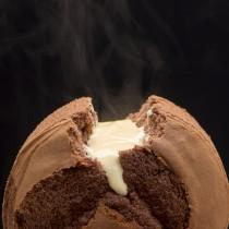 【樂樂甜點】樂樂爆漿巧克力布丁蛋糕(6吋/盒)