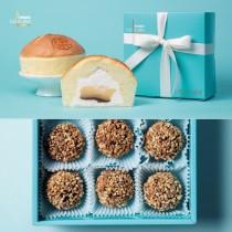 【官網限定】脆皮芋泥球+樂樂爆漿雞蛋布丁蛋糕│限定組合