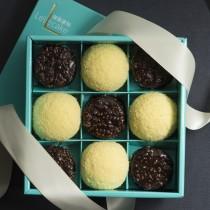 【樂樂甜點】脆皮提拉米蘇+初雪乳酪蛋糕 樂樂派對禮盒