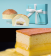【樂樂甜點】樂樂爆漿雞蛋布丁蛋糕(6吋/盒)+樂樂牛奶蛋糕1盒